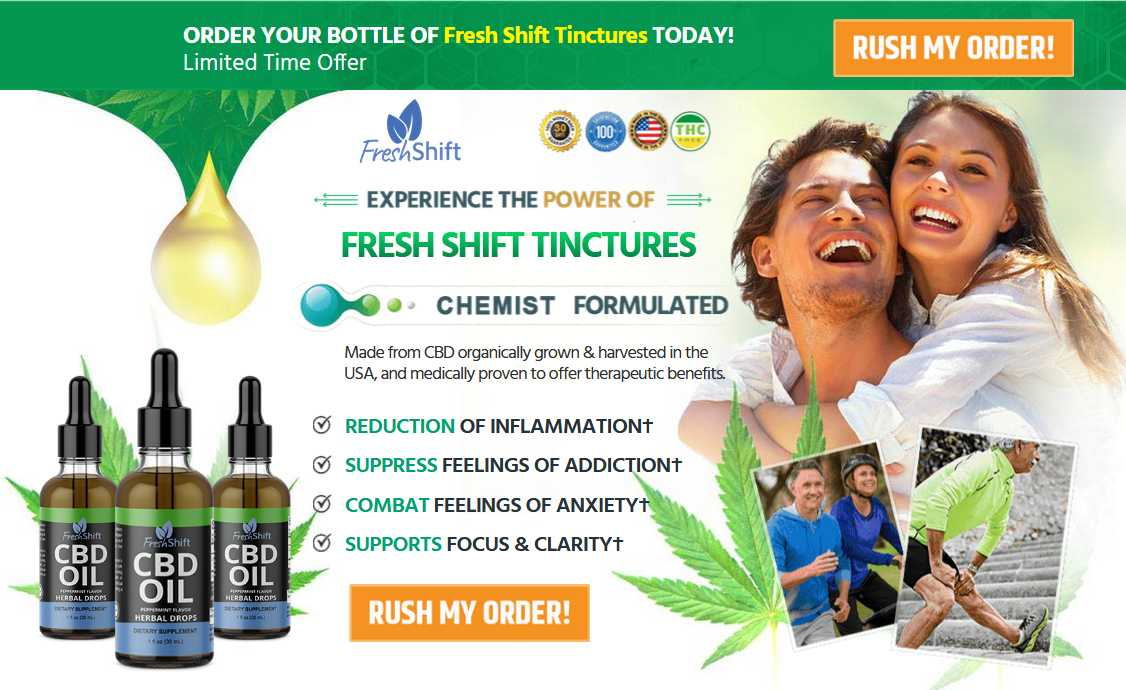 Fresh Shift CBD Oil